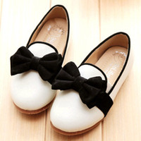microfiber suede - 2015 spring latest style girl fashion shoes Suede bow comfortable microfiber leather soft bottom shoes