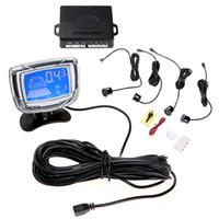 Wholesale Car Led Parking Sensor Kit Alarm Sensors Blue LCD Car Parking Reverse Backup Radar Monitor V Parking Assistance System