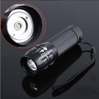 other led flashlight - Cool Shape Zoomable Modes CREE LED Flashlight Urtra Bright Torch Lumen H4030
