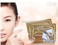 anti wrinkle eye pads - Free Ship pairs Anti Wrinkle Gel Collagen Under Eye Patches Pad Mask Bag Dark Circle