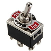 Wholesale Car Boat DPDT Heavy Duty Metal Tip Toggle ON OFF Dash Light Flick Switch V High Quality