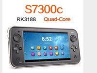 Wholesale Original JXD S7300C RK3188 Quad Core GHz GB GB quot x Android Game Console Tablet PC Support Arcade Games