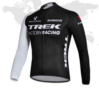 trek bike - TREK France tour suit long sleeve Cycling Jersey breathable mountain bike long clothes Bicycle