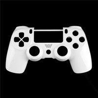 Cheap 1Pc Front Housing White Wireless Controller Shell Case For PlayStation 4 for PS4 for DualShock 4 Newest
