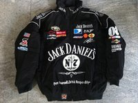 Wholesale Embroidery LOGO F1 FIA NASCAR IndyCar V8 Supercar MOTO GP Racing Cotton Jacket Motorcycle Rider Jacket Jack Daniels Jacket A0921