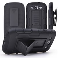 belt clip holder - Hybrid Armor Hard Case for iPhone s plus Belt Clip Holster With Kickstand Swivel Holder Rugged Phone Cover for samsung galaxy S6 Note