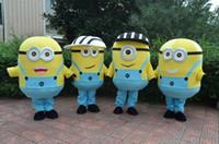 Wholesale Despicable me minion mascot costume for adults despicable me mascot costume
