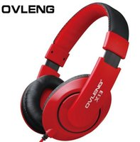 Wholesale Headphones Earphone Headset Stereo Wired Head Phone with Microphone for MP3 Game Computer PC Mobile Headphone Earphones X13