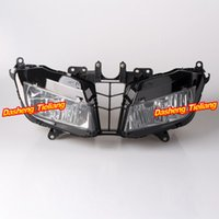 abs plstic - Front Headlamp Headlight Assembly Light House for Honda CBR RR F5 High Quality ABS Plstic order lt no track
