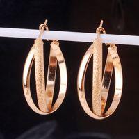 huggies - Brand New Wedding Earrings Huggies Earring Lady Unique Stylish Chic Hoop Earring E405b