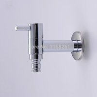 Wholesale Garden Bibcock faucet tap crane New Garden Washing Machine Water Tap Brass Faucet Polished Chrome plate Finish HJ