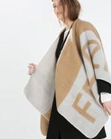 Wholesale new Women s Pashmina Fashion Oversized Open fork Shawl Blanket chaddar scarf Christmas Halloween gifts warm winter