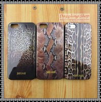 Cheap leopard print silicone TPU soft cell phone cover Skin for iphone 4 protective case 4s snakeskin cover case