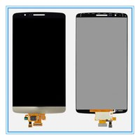 Wholesale 1PC LCD For LG G3 D850 LCD Display Touch Digitizer Screen Assembly White Gold Gray For LG G3 D850 D851 D855