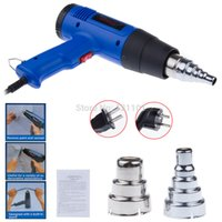 adjustable stapler - AC V V bule electric power tool hot air heat gun W temperature adjustable