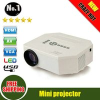 Wholesale 2014 NEW Arrival UC30 HD Home Theater MINI Projector For Video Games TV Movie Support HDMI VGA AV Portable