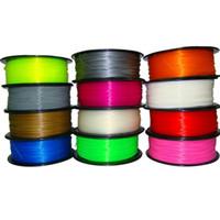 Wholesale 16Pcs MM MM D Printer Soft Flexible Filament For RepRap UP KG piece Elastic Rubber Consumables