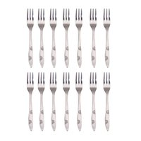 Wholesale Stainless Steel Cake Fruit Forks Kitchen Tool K5BO