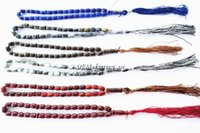 muslim prayer cap - New Islamic Prayer Beads Synthetic Quartz Beads Muslim Tasbih Allah Prayer Rosary Approx mm with Colors Drop Shipping