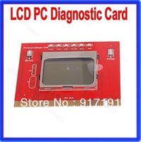 Wholesale P80 LCD Display PCI Computer PC Analyzer Tester Diagnostic Debug POST Card