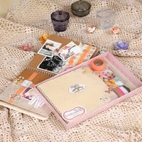 Wholesale new Scrapbooking Photo Album Scrapbook Diy Book Kit home decoration Elegant wedding album children s photo album baby k516
