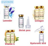 Wholesale Hot item Cucnzn vitamin c serum plant extract hyaluronic acid serum face collagen serum lavender oil pore minimizer Free DHL CA mix