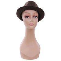 Wholesale Realistic cheap styrofoam makeup mannequin head