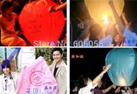Cheap Wholesale-free shipping Hot Selling Sky Lanterns,Wishing Lantern fire balloon Chinese Kongming lantern Wishing Lamp for BI