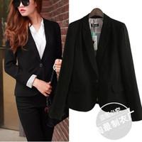 Wholesale 9 yy New South Korean button Slim small suit female suit jacket
