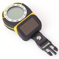 Wholesale Multifunctional Digital Altimeter Barometer Thermometer Compass Weather Forecast and Time Solar Power