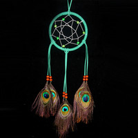 wind chime - Original Dream Catcher Wind Chimes Dreamcatcher Car Pendant Home Decor Rattan Craft