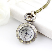 Wholesale Vine jewelry new elegant steampunk pocket watch pendant watches