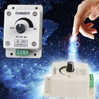 Wholesale DC V A LED Light Protect Strip Dimmer Adjustable Brightness Controller