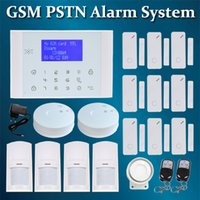 auto dialer gsm home alarm - Hot Wireless LCD Touch Keypad GSM PSTN SMS Alarm Home Burglar Security GSM Alarm System Auto dialer