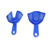 Wholesale 2015 New Luxury Great Plastic Steel Dental Impression Trays Oral Hygiene