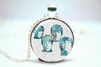 beatles art prints - 10pcs The Beatles Art Print NECKLACE Glass Photo Cabochon Necklace
