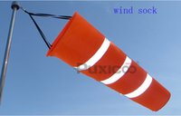 Wholesale 2015 Newest All Weather white orange fluorescent Wind Sock Weather Vane Wind Monitoring Needs Wind Indicator test bags mm