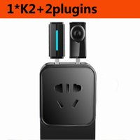 Wholesale 2015 New Arrival electrical Smart wifi plugs sockets Kankun K2 EU AU Scoket with double USB Night light Camera Multi funtion