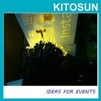 Wholesale KITOSUN easy install high quality LED Solar Fairy Lights Outdoor Garden Battery Powered Party Suppply Lighting