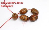 Wholesale Hot Approx mm mm Prayer Mala Tibetan Mystical Agate Dzi Eyes Beads DIY necklace Gift w03474