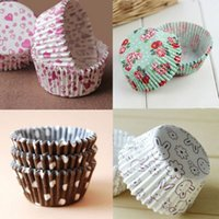 Wholesale 100PCS Mini Paper Cake Cup Liners Baking Cupcake Muffin Cases Wedding Xmas Party