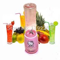 Wholesale juicer blender liquidificador cute Hello Kitty healthy electric juice machine mixer fruit extractor grinder meat squeezer