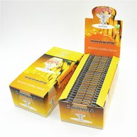 banana flavored - TOP SELLING box booklets MM Banana Cherry Watermelon and others Flavored Fruity Rolling Papers Smoking Cigarette