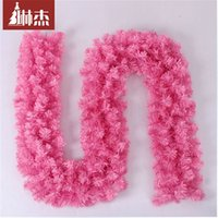 bauble garland - Christmas Baubles Hotel door cane Christmas decoration Pink m Christmas Garland Christmas Santa Sack