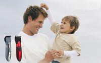 achat en gros de rasoirs rechargeables imperméables pour les hommes-Expédition New Electric Man bébé cheveux réglable Clippers tondeuses rasoir rechargeable rasoir étanche sans fil Accueil Trimmer gratuit