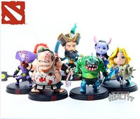 Wholesale 7pcs Handmade cm DOTA2 Warcraft Game Collection Action Figures Model Toys