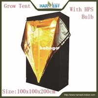 Wholesale Green room grow tent dedicated greenhouse grow tent Grow green tent Agricultural equipment size100x100x200cm