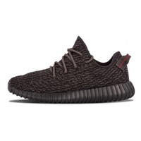 Wholesale Yeezy Boost All Black Training Shoes Men s and Women s Fashion Sneakers Low Outdoors Sports Shoes