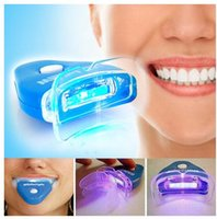 Wholesale Dental Tooth Whitening Teeth Whitener With Whitelight Teeth Whitening Light Easy Use Teeth Whitening LED Mini Light pc LED Light Blue Colo