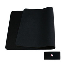 Wholesale New cm Large Gaming Mouse Pad Mat for CS CF WOW Laptop Computer Black Freeshipping dropshipping